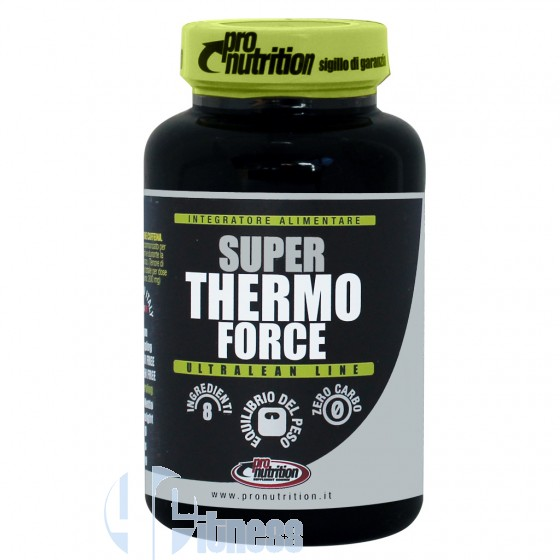 Pro Nutrition Super Thermo Force Termogenici Con Caffeina