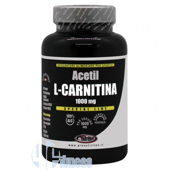 Pro Nutrition Acetil L-Carnitina Termogenico Senza Caffeina