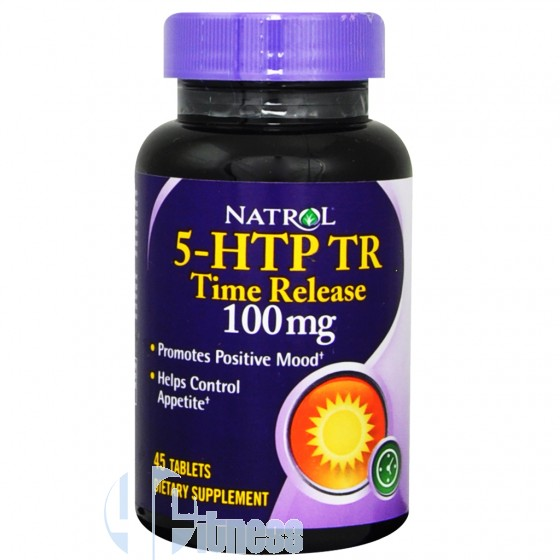 Natrol 5-HTP Time Release Benessere Naturale
