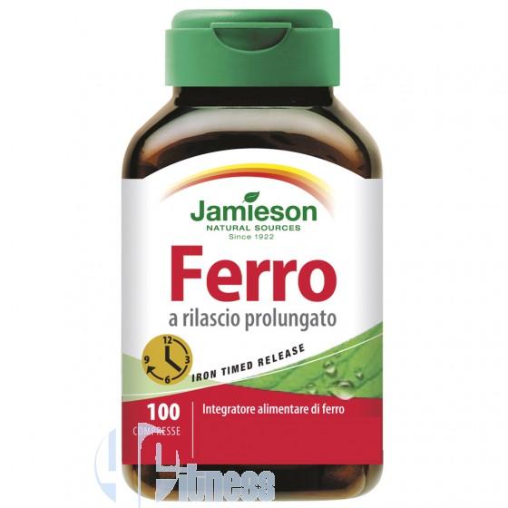 Jamieson Ferro a Rilascio Prolungato Vitamine Minerali Antiossidanti