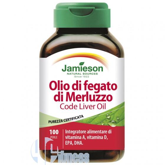 Jamieson Olio di Fegato di Merluzzo Acidi Grassi Essenziali