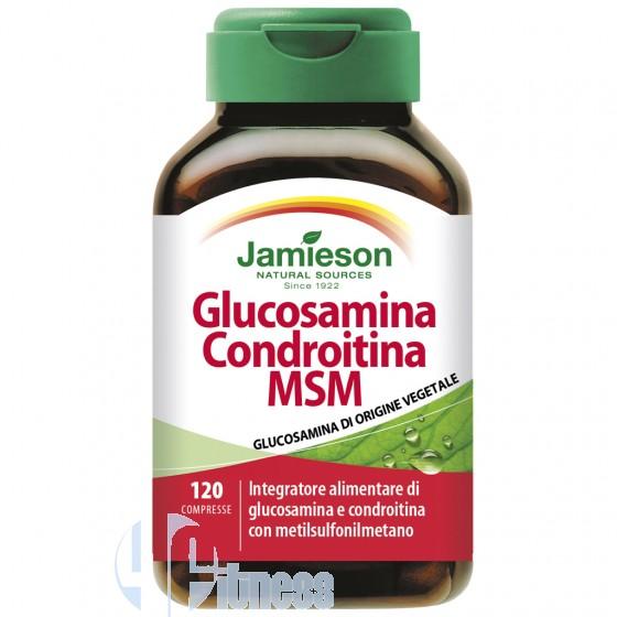 Jamieson Glucosamina Condroitina Msm Supplementi per Articolazioni