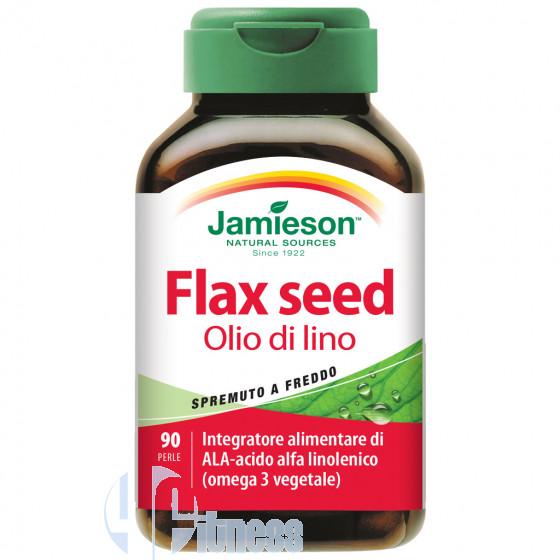 Jamieson Flax Seed Olio di Lino Acidi Grassi Omega-3