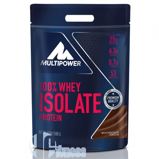 Multipower 100% Whey Isolate Proteine Isolate del Latte