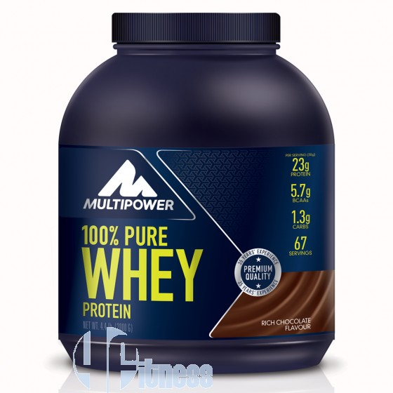 Multipower 100% Whey Pure Proteine del Siero di Latte