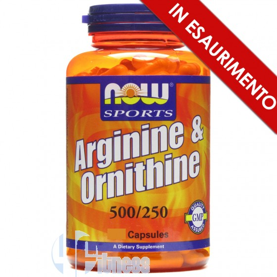 Now Foods Arginine+Ornithine Stimolanti ed Ergogenici