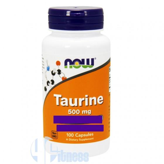 Now Foods Taurine Aminoacidi Stimolanti