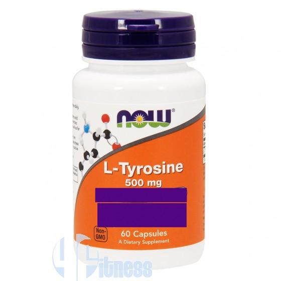 Now Foods L-Tyrosine Aminoacidi