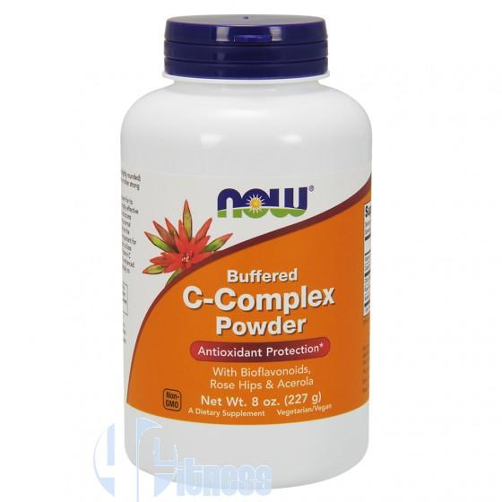 Now Foods C-Complex Powder Vitamine Minerali e Antiossidanti