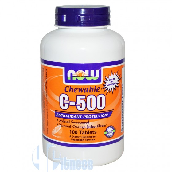 C-500 CHEWABLE 100 CPR