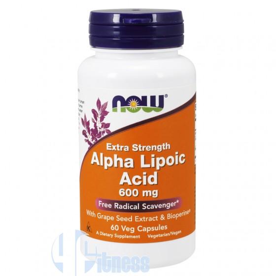 Now Foods Alpha Lipoic Acid Antiossidanti