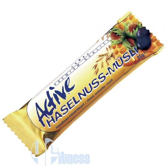 ACTIVE HASELNUSS-MUSLI BAR 35 GR