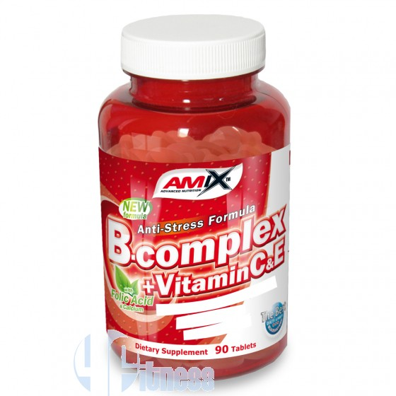 B-COMPLEX + VITAMIN C & E 90 TAV