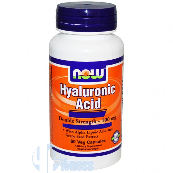 NOW FOODS HYALURONIC ACID 60 CPS
