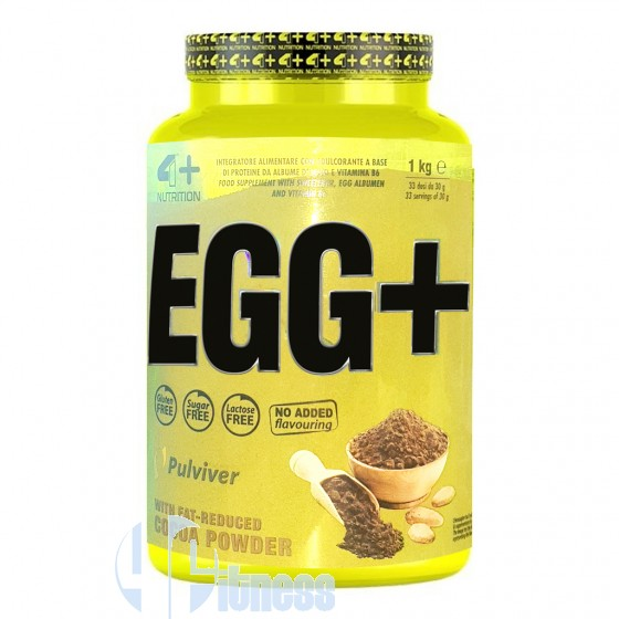 4 Plus Nutrition Egg+ Proteine dell'Uovo