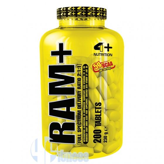 4 Plus Nutrition Ram+ Aminoacidi Ramificati