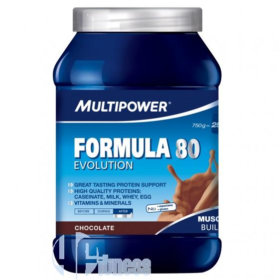 Multipower Formula 80 Proteine a Lento Rilascio