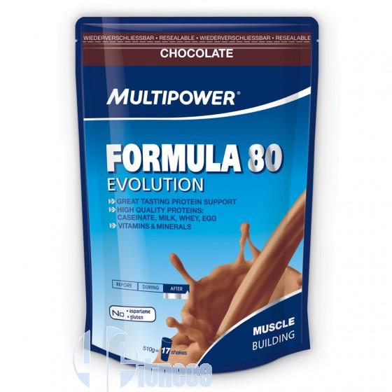 MULTIPOWER FORMULA 80 EVOLUTION 510 GR