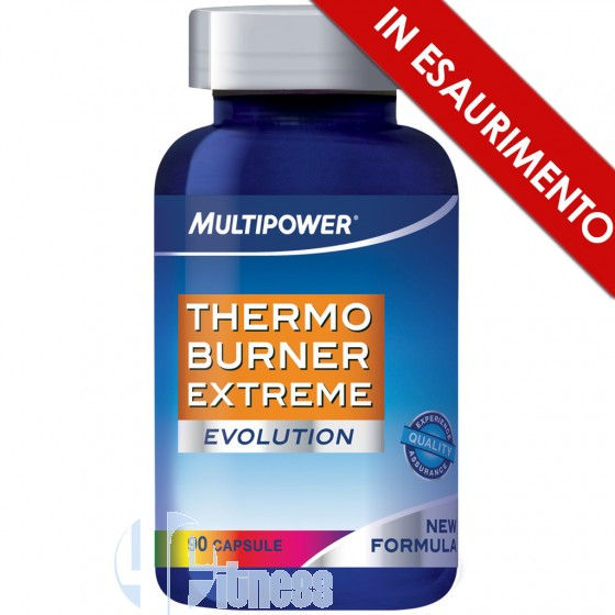 Multipower Thermo Burner Extreme Termogenico con Caffeina