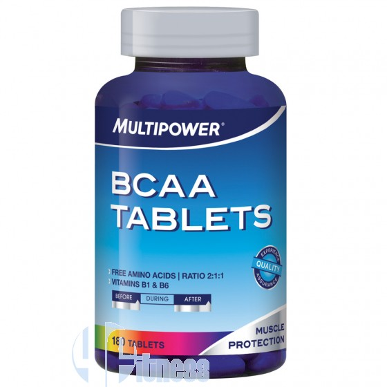 Multipower Bcaa Tablets Aminoacidi Ramificati