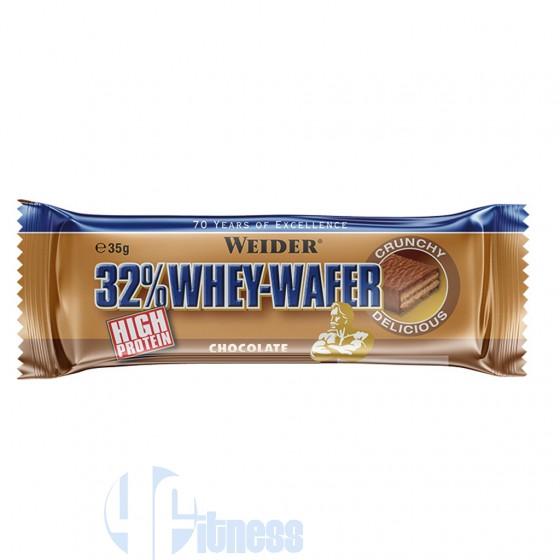 Weider Integratori 32% Protein Whey Wafer Barrette Proteiche