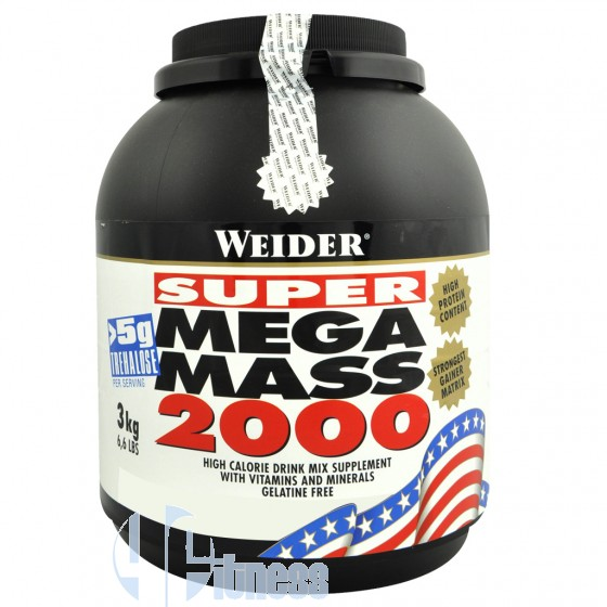 Weider Integratori Super Mega Mass 2000 Gainer Proteico