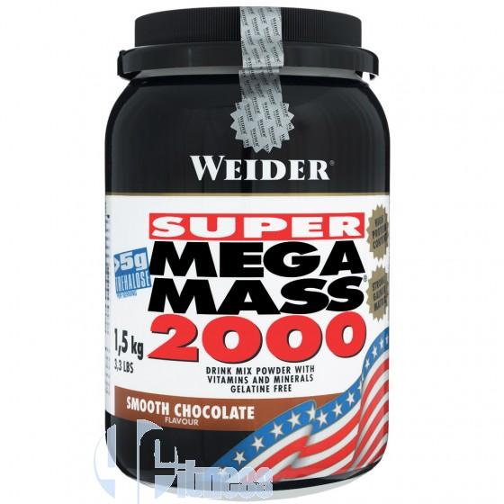 Weider Integratori Super Mega Mass 2000 Gainer Proteico