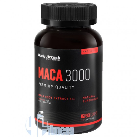 Body Attack Maca 3000 Tonico Naturale