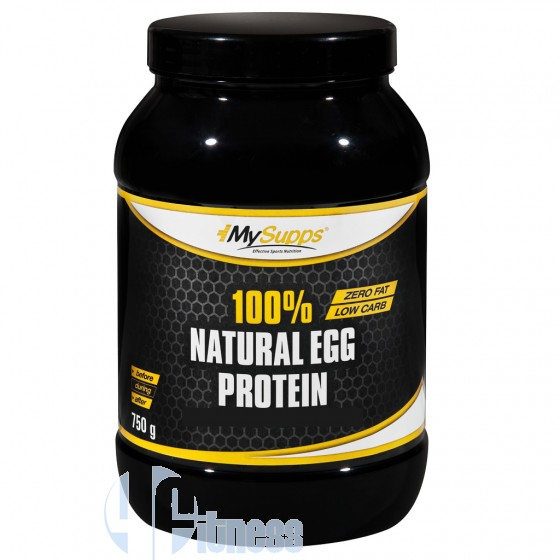 MY SUPPS 100% NATURAL EGG PROTEIN 750 GR