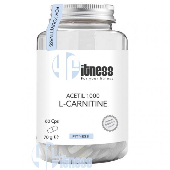 4Fitness Acetil 1000 L-Carnitine Termogenici Energetici