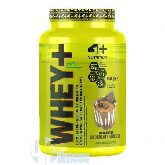 4 Plus Nutrition Whey+ Proteine del Siero del Latte