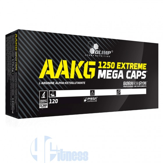 Olimp Aakg 1250 Mega Caps Stimolanti ed Ergogenici