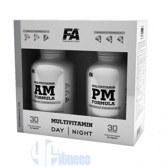 Fitness Authority Multivitamin AM & PM Formula Energetico Multivitaminico