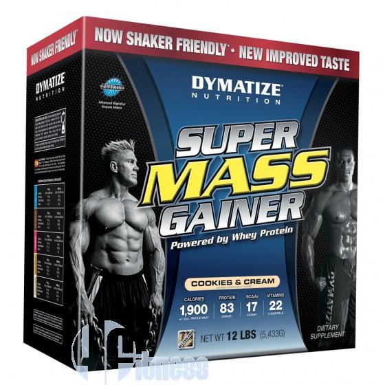 DYMATIZE SUPER MASS GAINER 5,4 KG