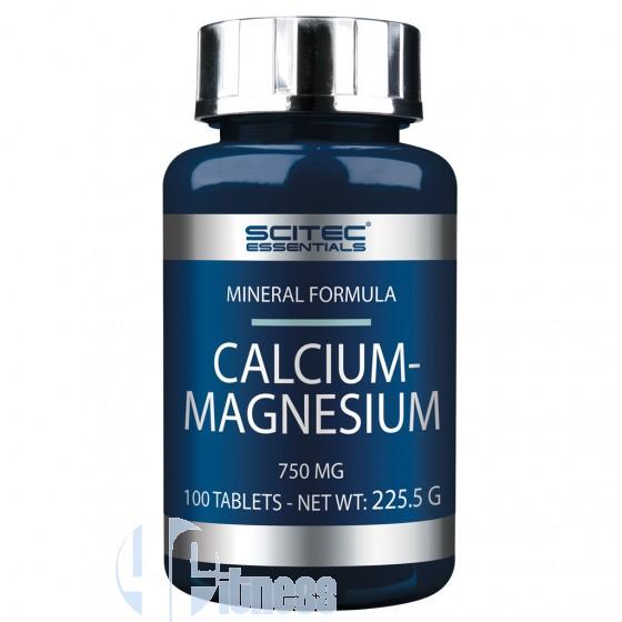 Scitec Nutrition Calcium-Magnesium Essential Vitamine e Minerali