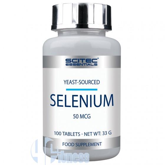 Scitec Nutrition Selenium Essential Vitamine, Minerali e Antiossidanti