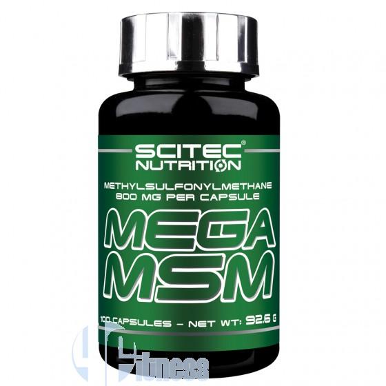 Scitec Nutrition Mega Msm Supplementi per Articolazioni