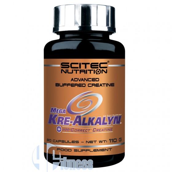 Scitec Nutrition Mega Kre-Alkalyn Creatina Alcalina o Tamponata