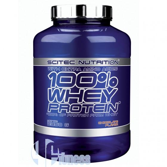 Scitec Nutrition 100% Whey Protein Proteine del Siero di Latte