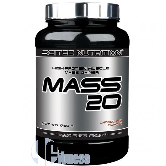 Scitec Nutrition Mass 20 Gainer Proteico Glucidico