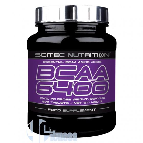 Scitec Nutrition Bcaa 6400 Aminoacidi Ramificati