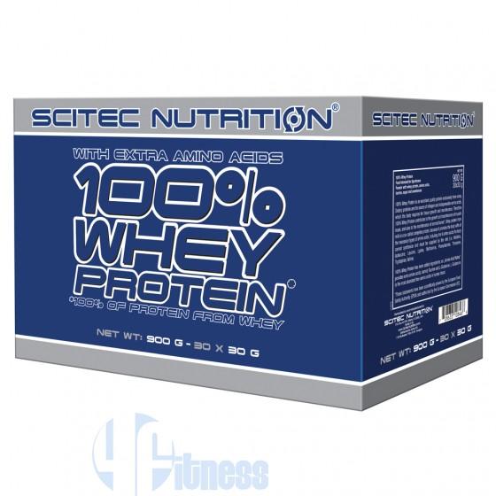 Scitec Nutrition 100% Whey Protein Box Proteine del Siero di Latte