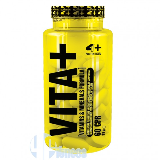 4 Plus Nutrition Vita+ Vitamine Minerali Antiossidanti