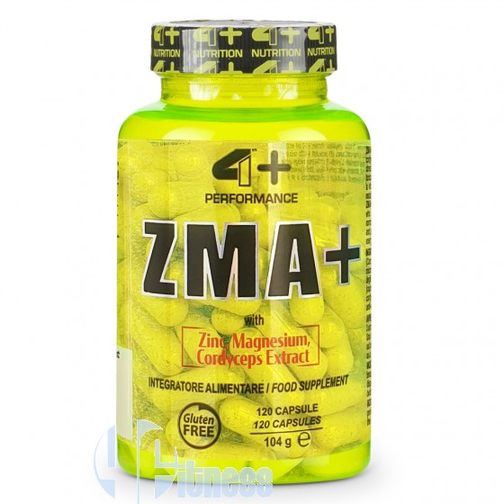 4 Plus Nutrition Zma+ Stimolanti ed Ergogenici