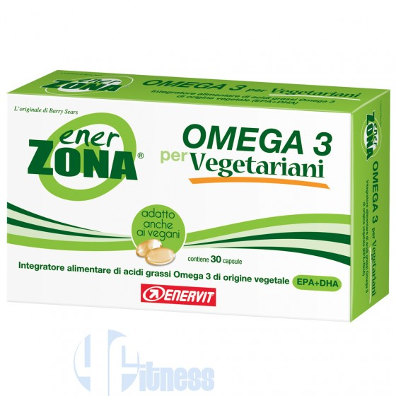 OMEGA-3 PER VEGETARIANI 30 CPS