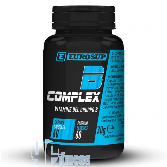 Eurosup B-Complex Vitamine Minerali Antiossidanti