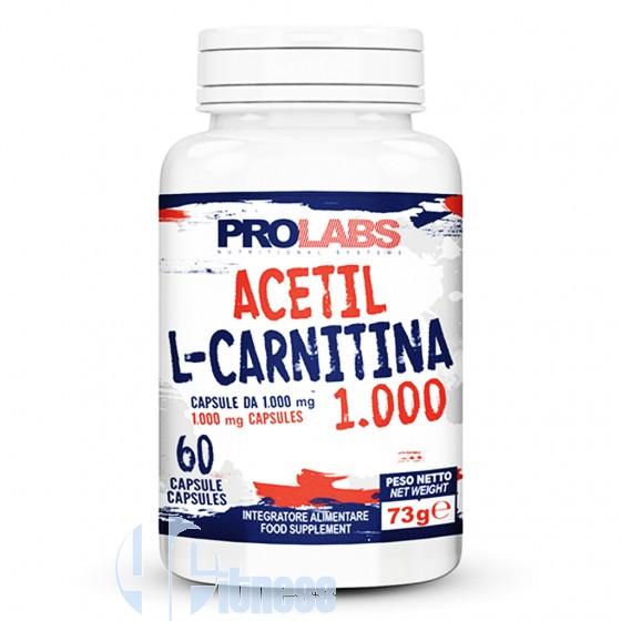 Prolabs Acetil L-Carnitina 1000 Termogenico Energetico