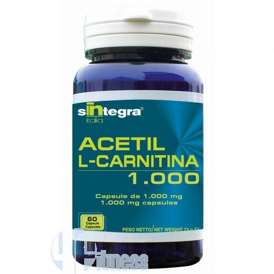 SINTEGRA ITALIA ACETIL L-CARNITINA 1000 60 CPS