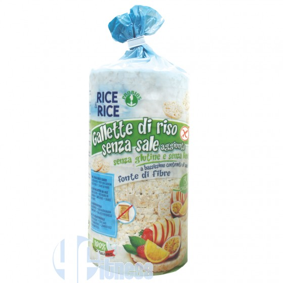 Rice&Rice Gallette di Riso Senza Sale Senza Glutine