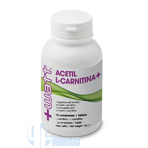 +Watt Acetil L-Carnitina Termogenici ed Energetici